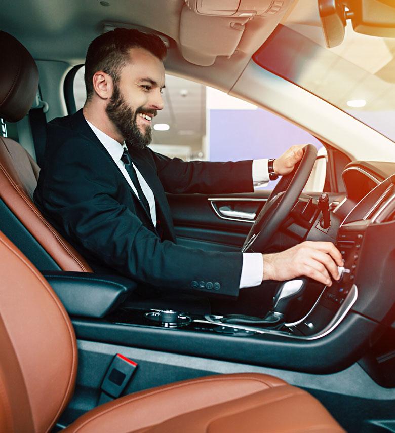 Acquire luxury cars